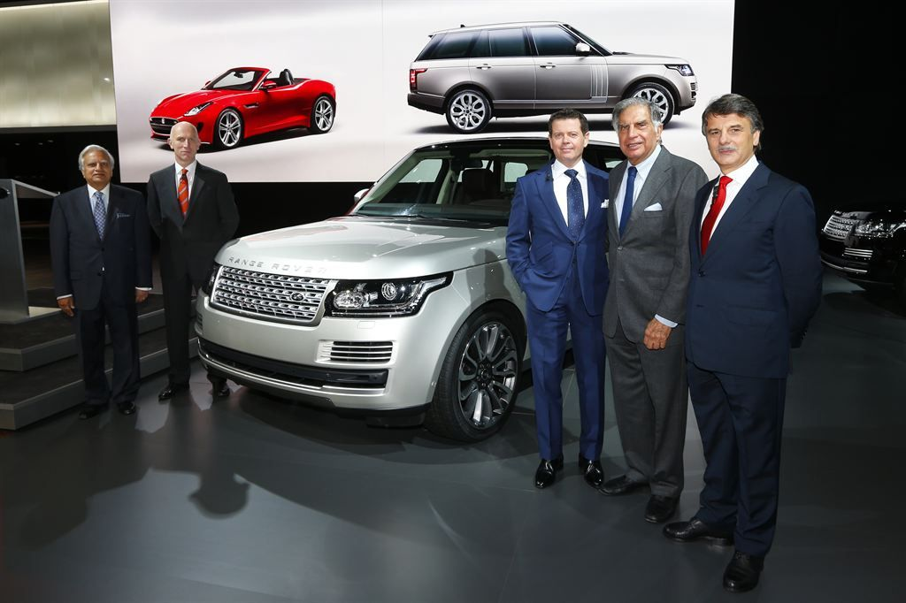 new rangerover12 New Range Rover Revealed at Paris Motor Show