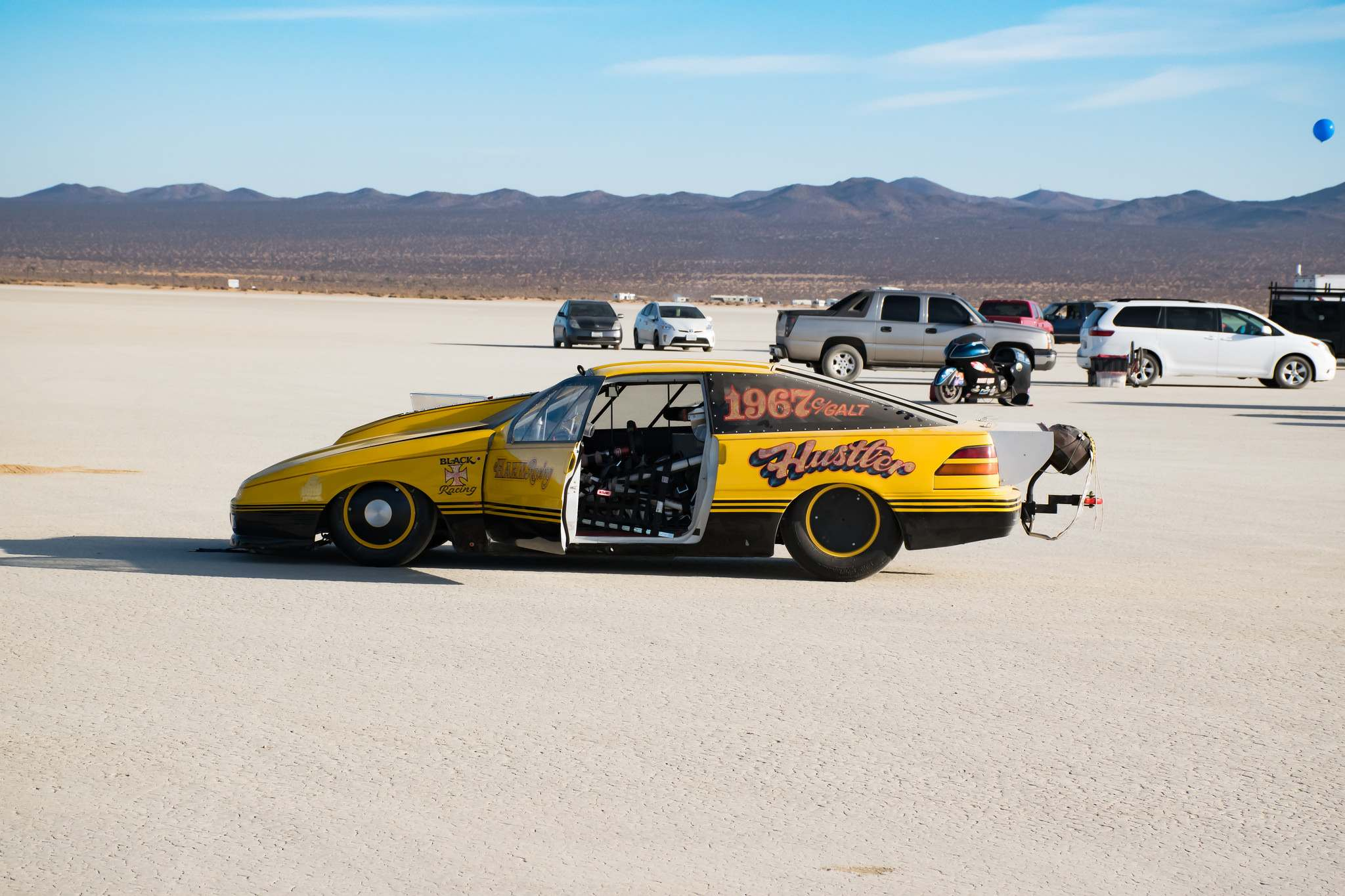 land speed racing10 Speed Racing at El Mirage Dry Lake