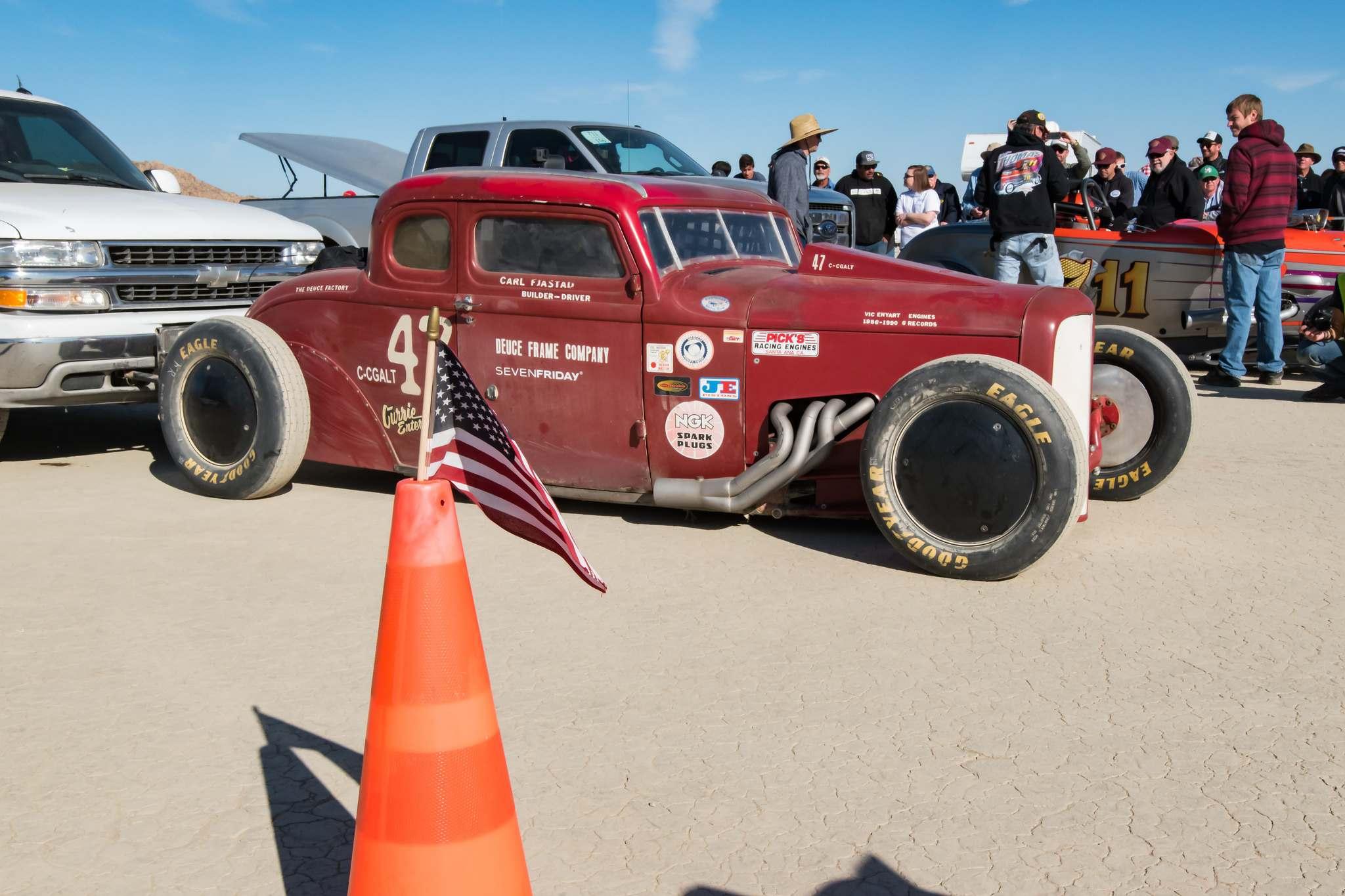 land speed racing12 Speed Racing at El Mirage Dry Lake