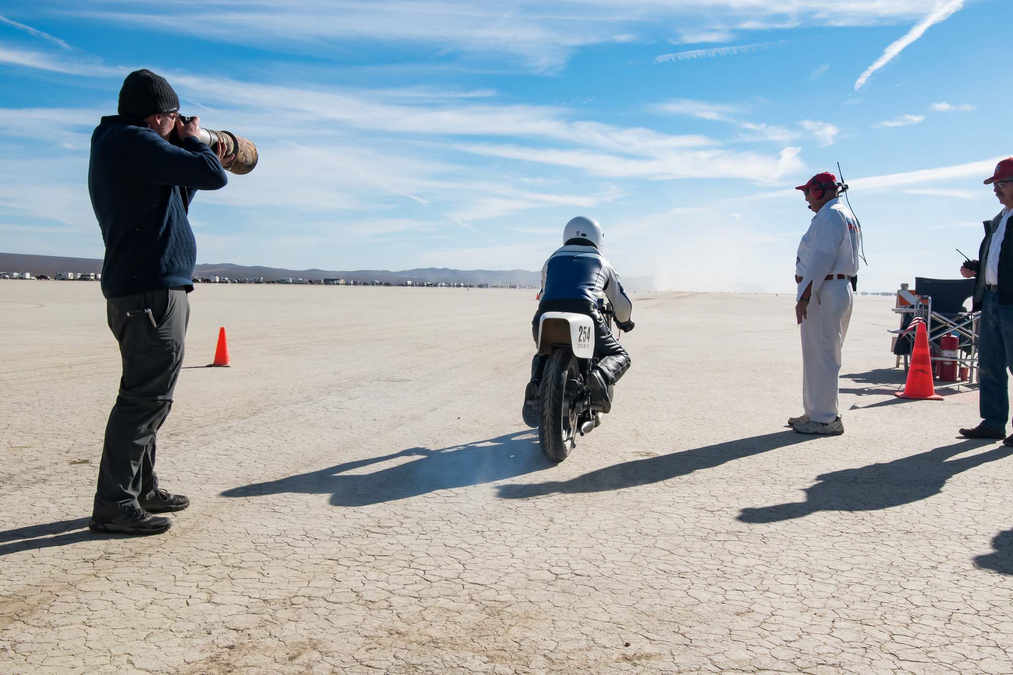 land speed racing3 Speed Racing at El Mirage Dry Lake