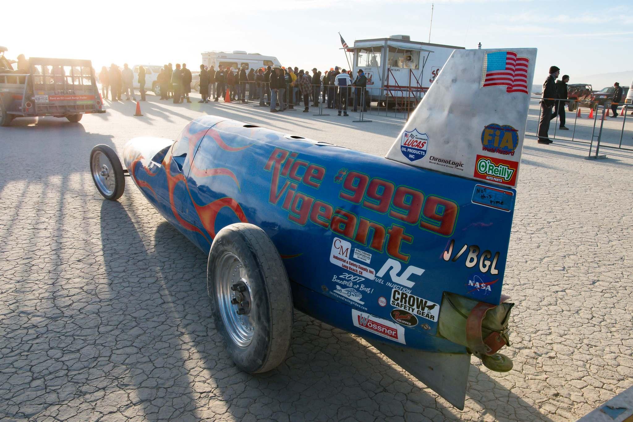 land speed racing9 Speed Racing at El Mirage Dry Lake