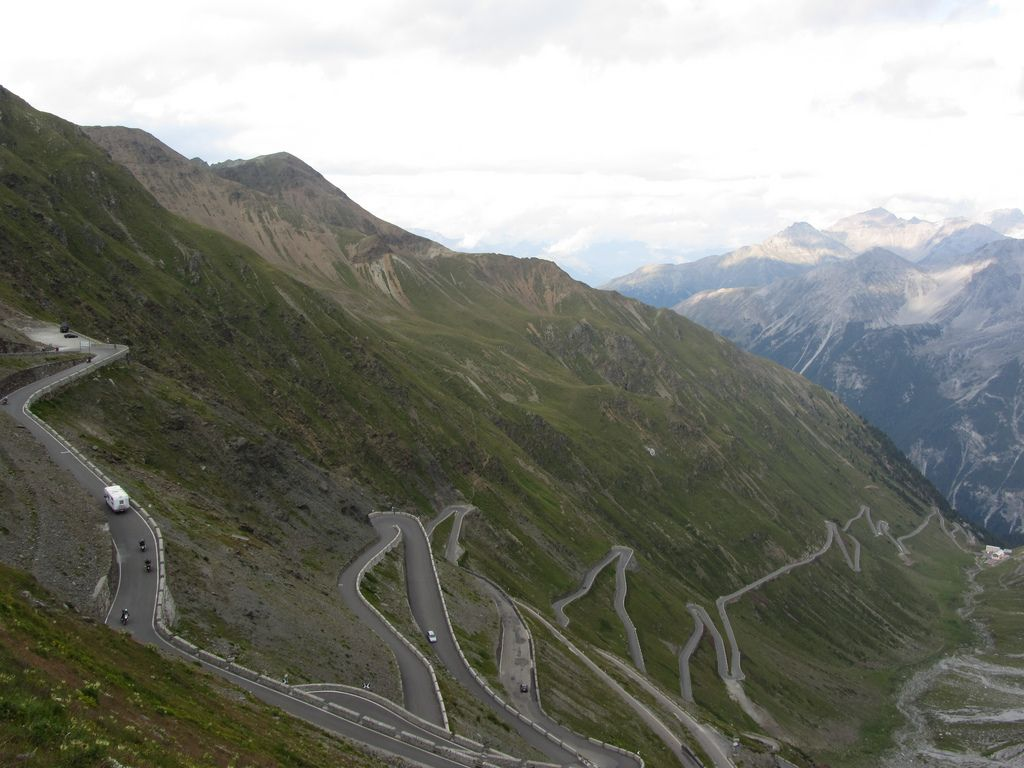 stelvio pass6 Stelvio Pass Breathtaking Road