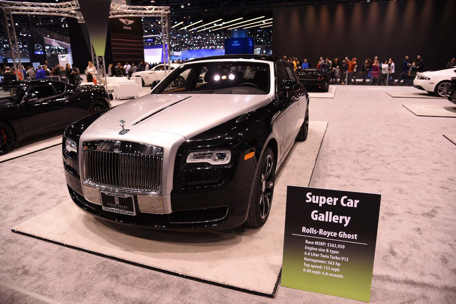 super car gallery1 Supercars at Chicago Auto Show 2016