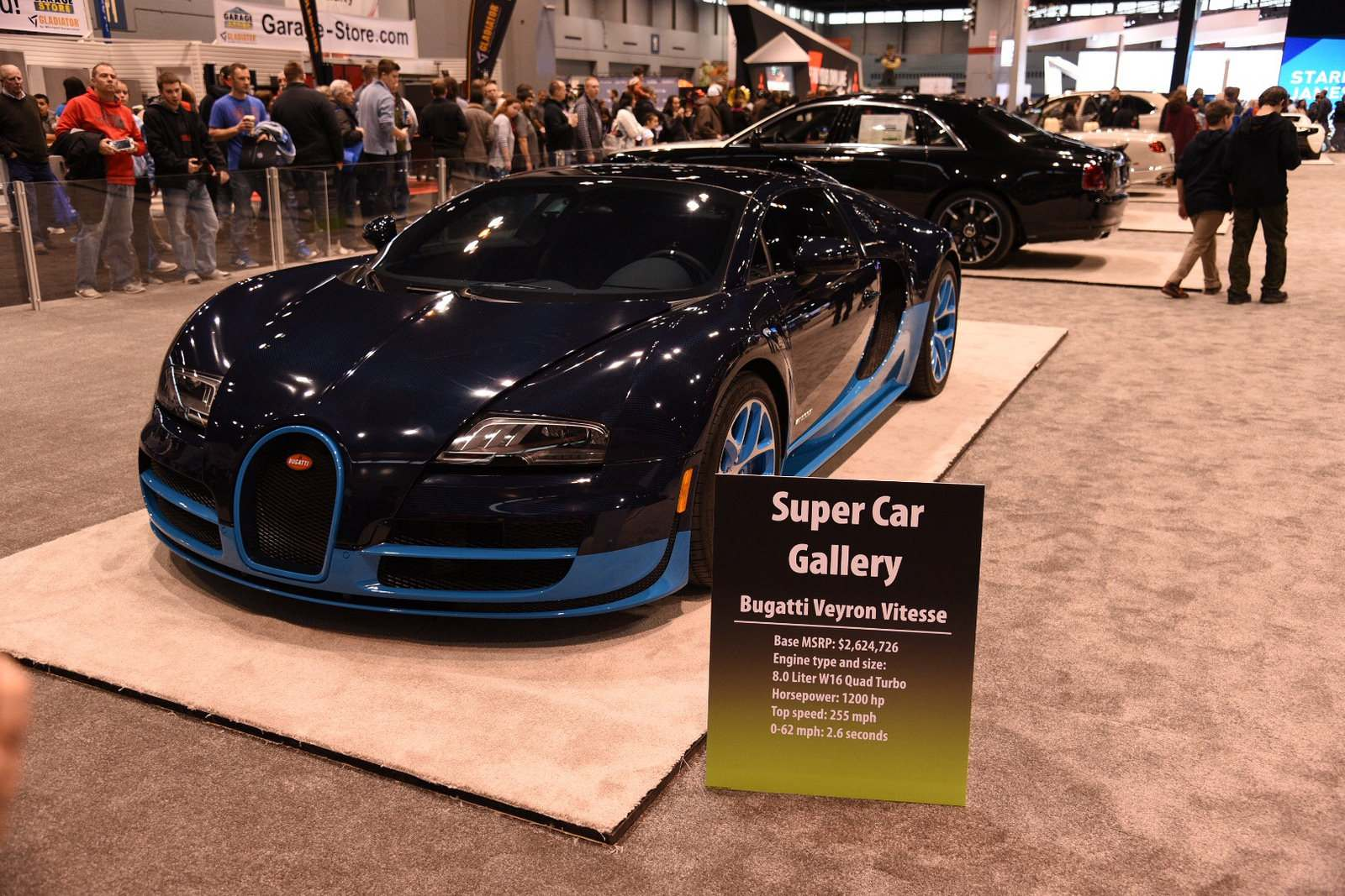 super car gallery3 Supercars at Chicago Auto Show 2016