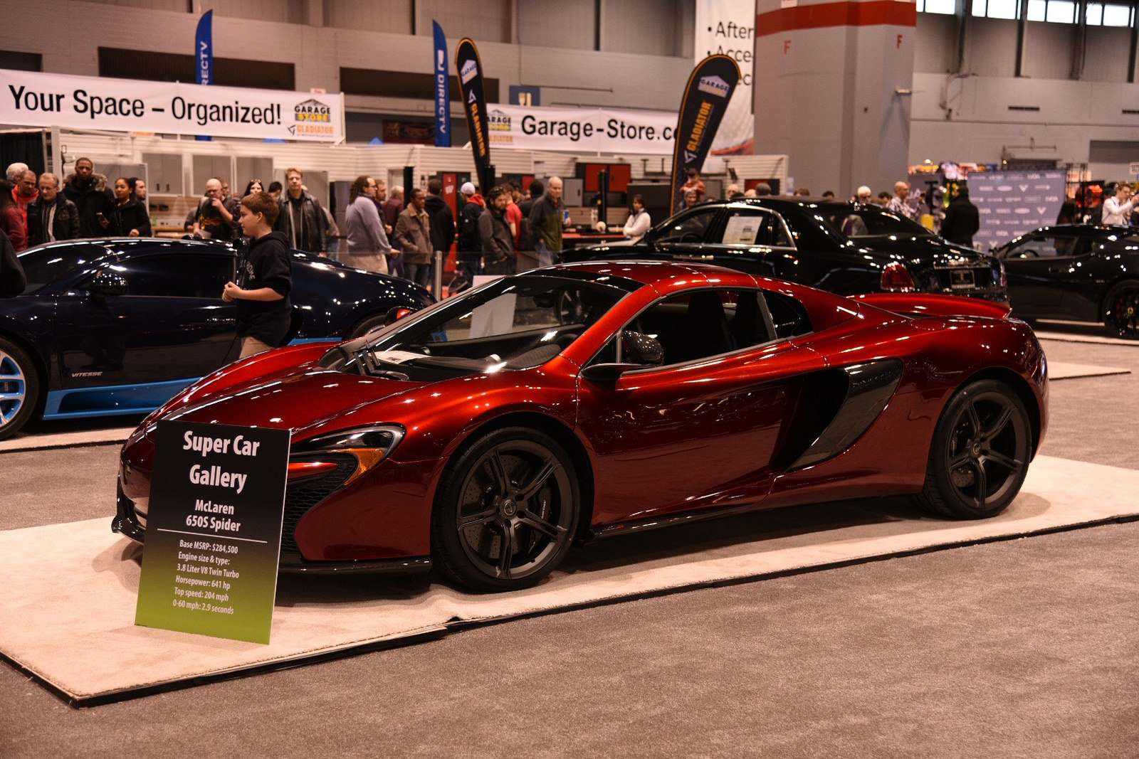 super car gallery6 Supercars at Chicago Auto Show 2016