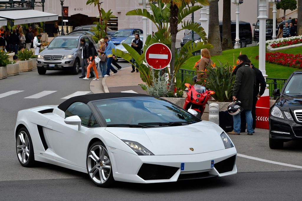 luxury super car12 Supercars in Monaco Before Formula One Grand Prix 2013