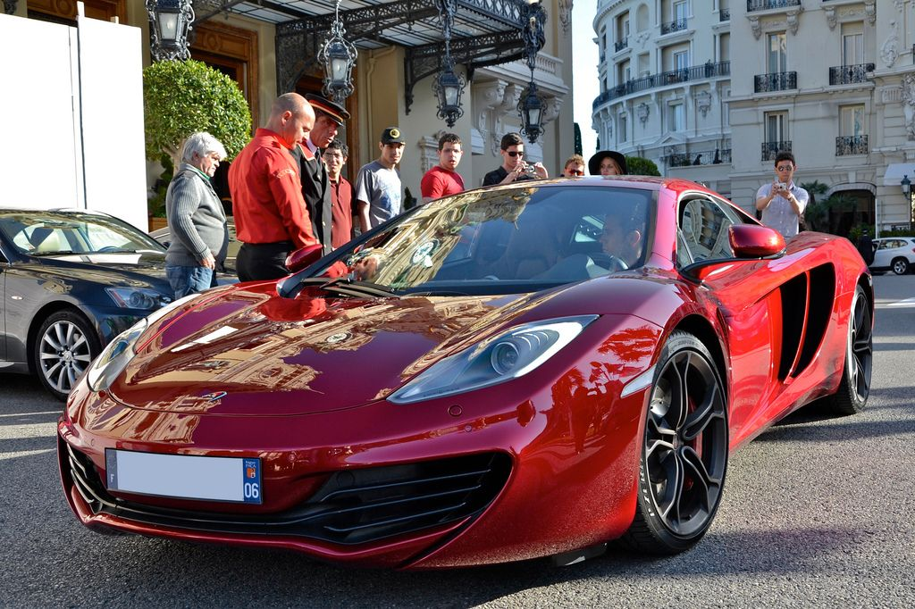 luxury super car13 Supercars in Monaco Before Formula One Grand Prix 2013