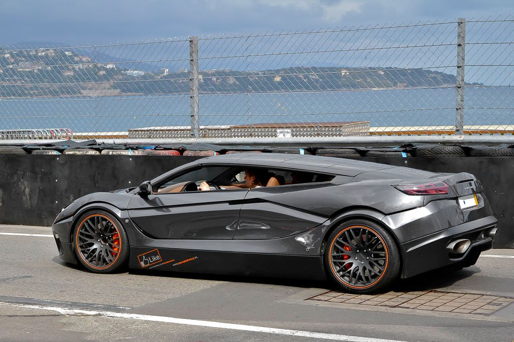 luxury super car4 Supercars in Monaco Before Formula One Grand Prix 2013