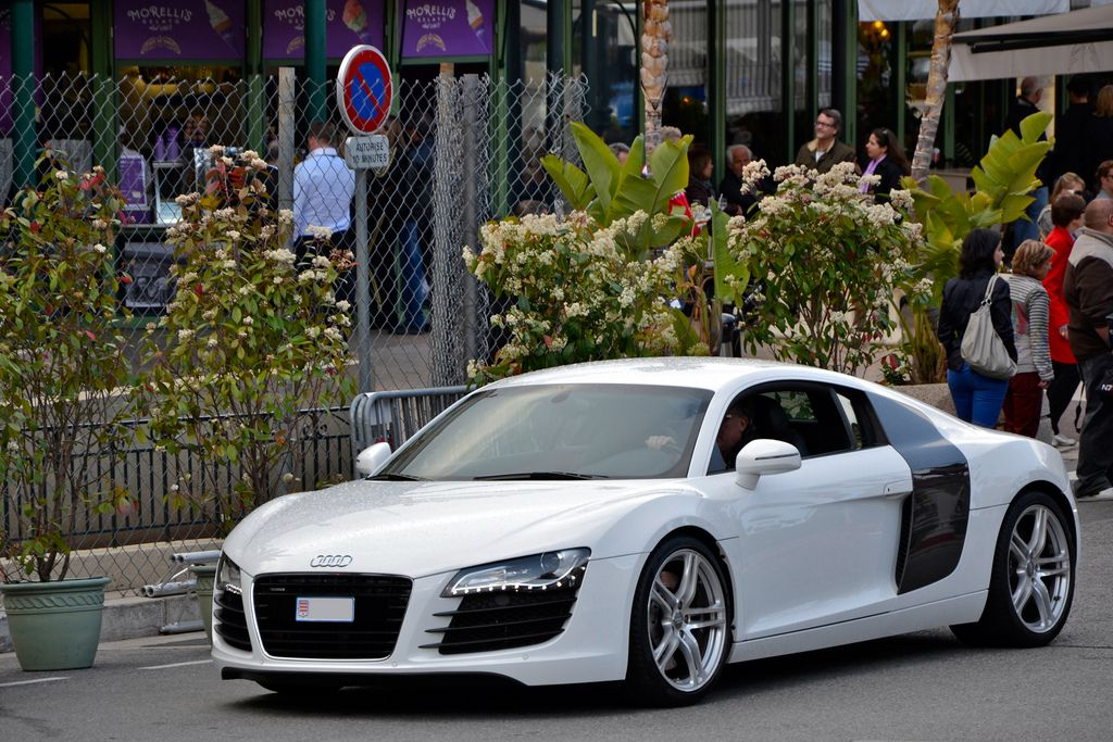 luxury super car8 Supercars in Monaco Before Formula One Grand Prix 2013