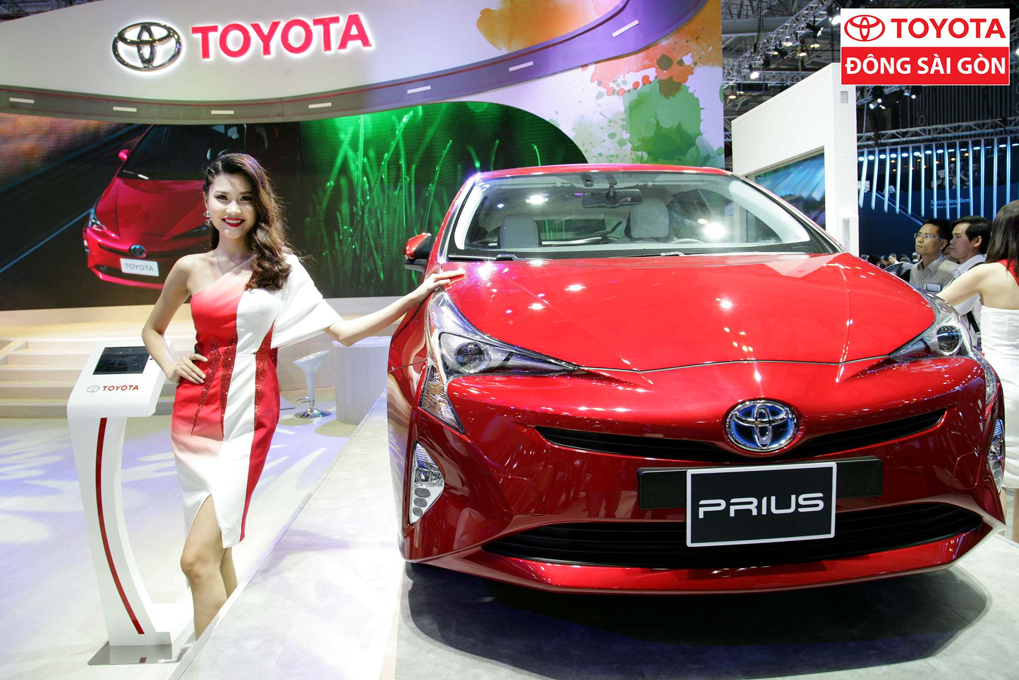 vietnam motor show 2017 Toyota at Vietnam Motor Show 2017