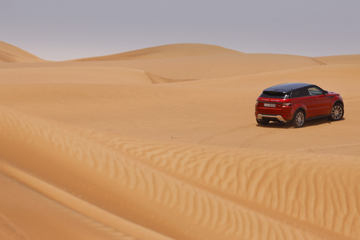 range rover evoque10 Welcome to Desert with Range Rover Evoque
