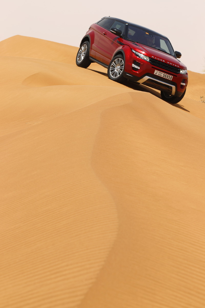 range rover evoque18 Welcome to Desert with Range Rover Evoque