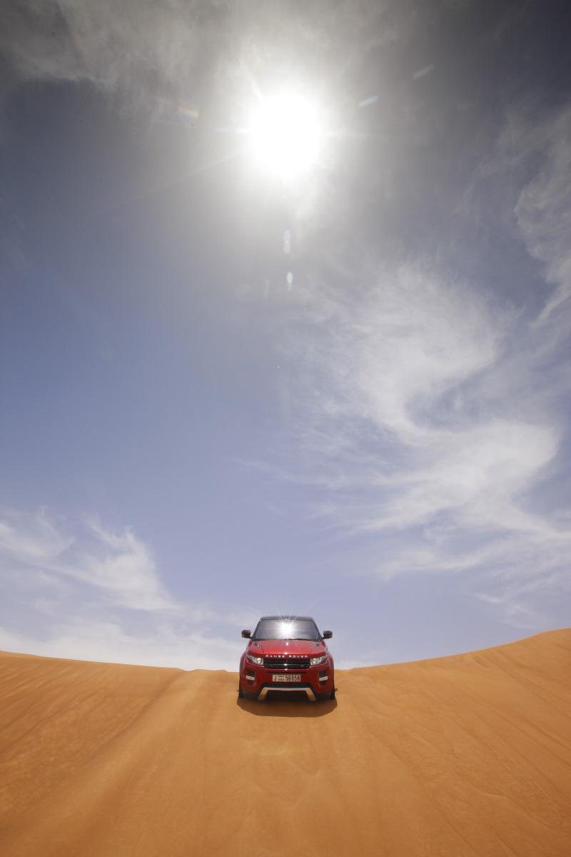 range rover evoque20 Welcome to Desert with Range Rover Evoque