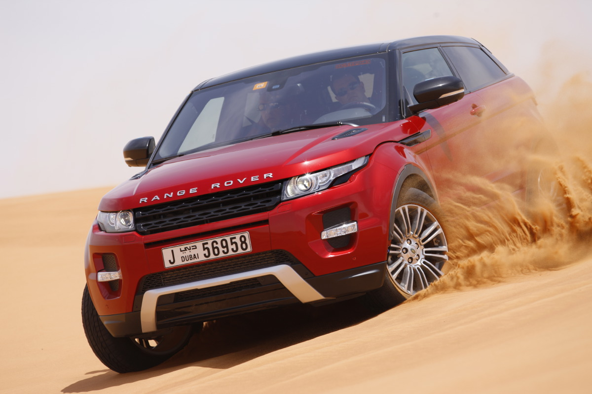 range rover evoque21 Welcome to Desert with Range Rover Evoque