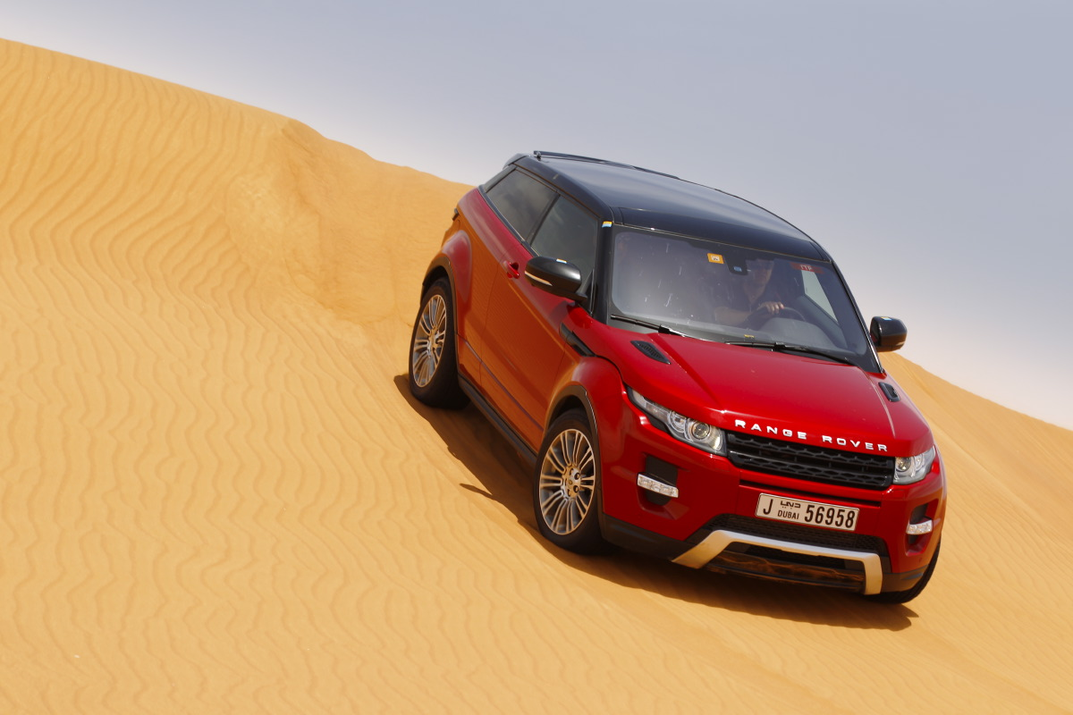 range rover evoque7 Welcome to Desert with Range Rover Evoque