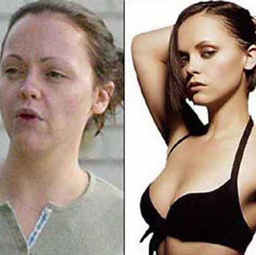 celebrities without makeup10 Celebrities With and Without MakeUp