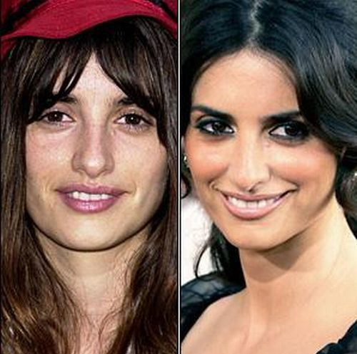 celebrities without makeup6 Celebrities With and Without MakeUp