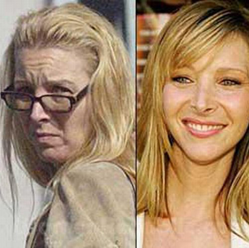 celebrities without makeup9 Celebrities With and Without MakeUp