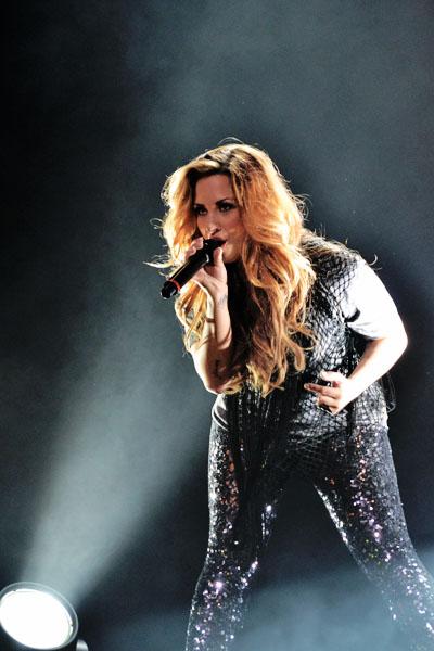 demi lovato1 Demi Lovato Tour at Credicard Hall, Sao Paulo