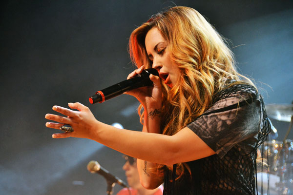 demi lovato11 Demi Lovato Tour at Credicard Hall, Sao Paulo