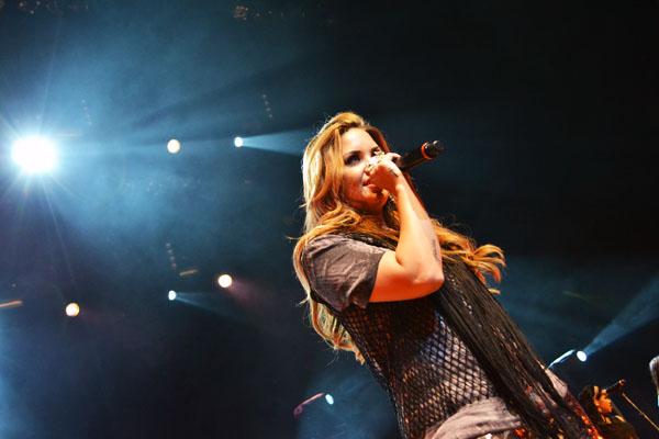demi lovato9 Demi Lovato Tour at Credicard Hall, Sao Paulo