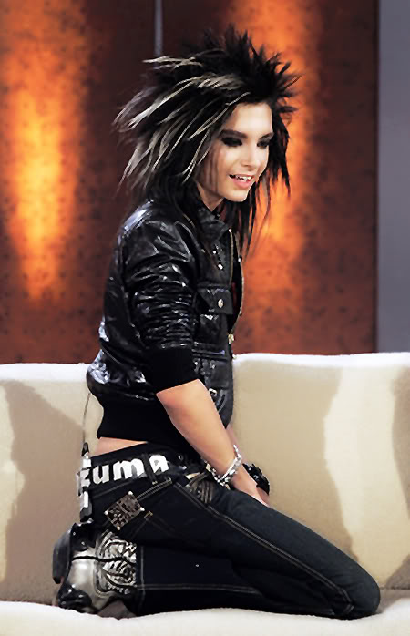 tokio hotel bill kaulitz15 Different Hair Styles by Bill Kaulitz from Tokio Hotel