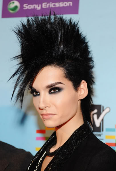 tokio hotel bill kaulitz3 Different Hair Styles by Bill Kaulitz from Tokio Hotel
