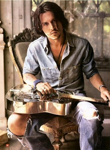 johny depp3 Filmography and Retro Photos of Johnny Depp