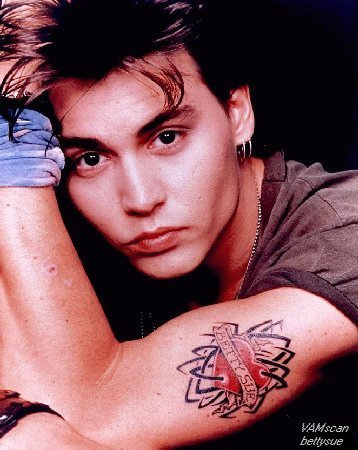 johny depp9 Filmography and Retro Photos of Johnny Depp