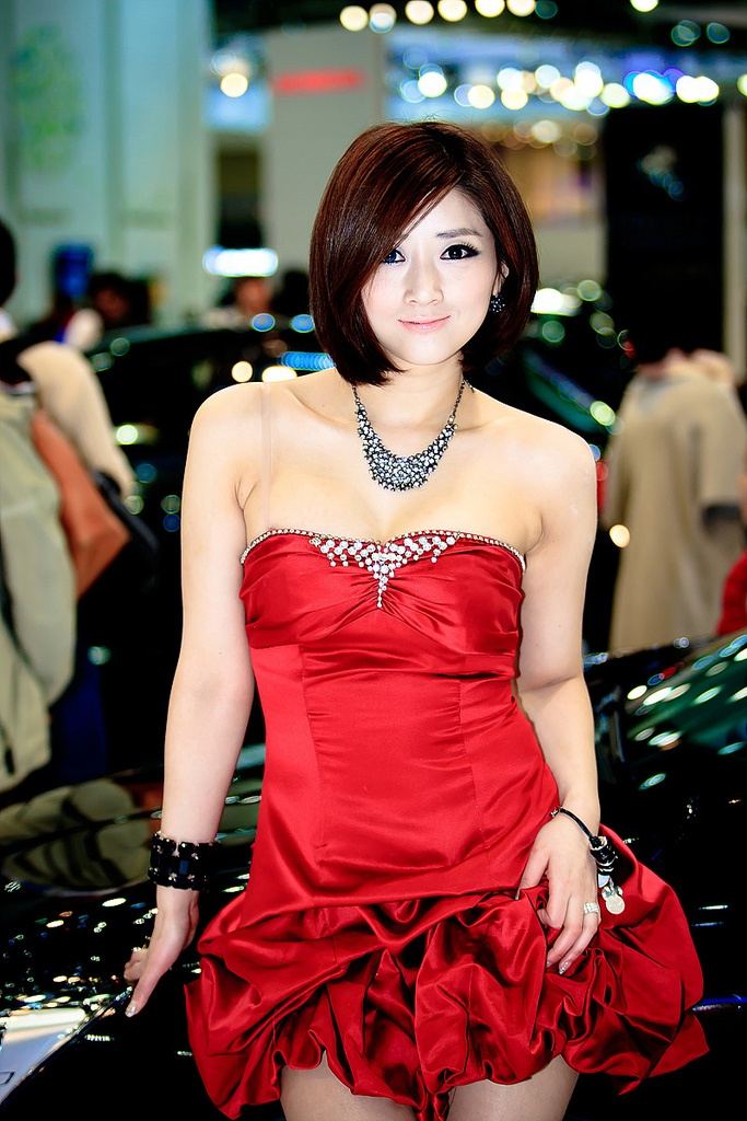 motor show model14 Hot Korean Models at Seoul Motor Show