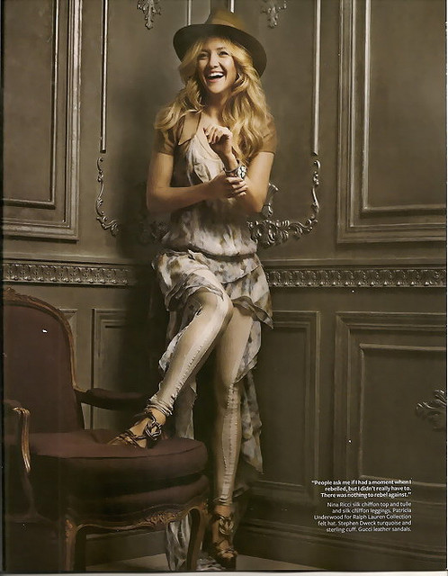 kate hudson1 Kate Hudson looks lovely in Magazines