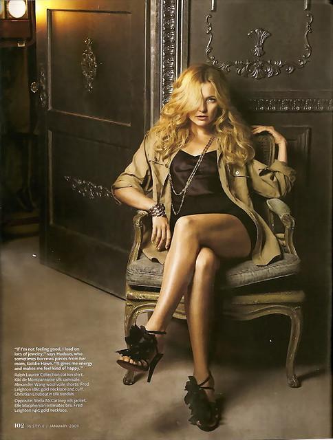 kate hudson2 Kate Hudson looks lovely in Magazines