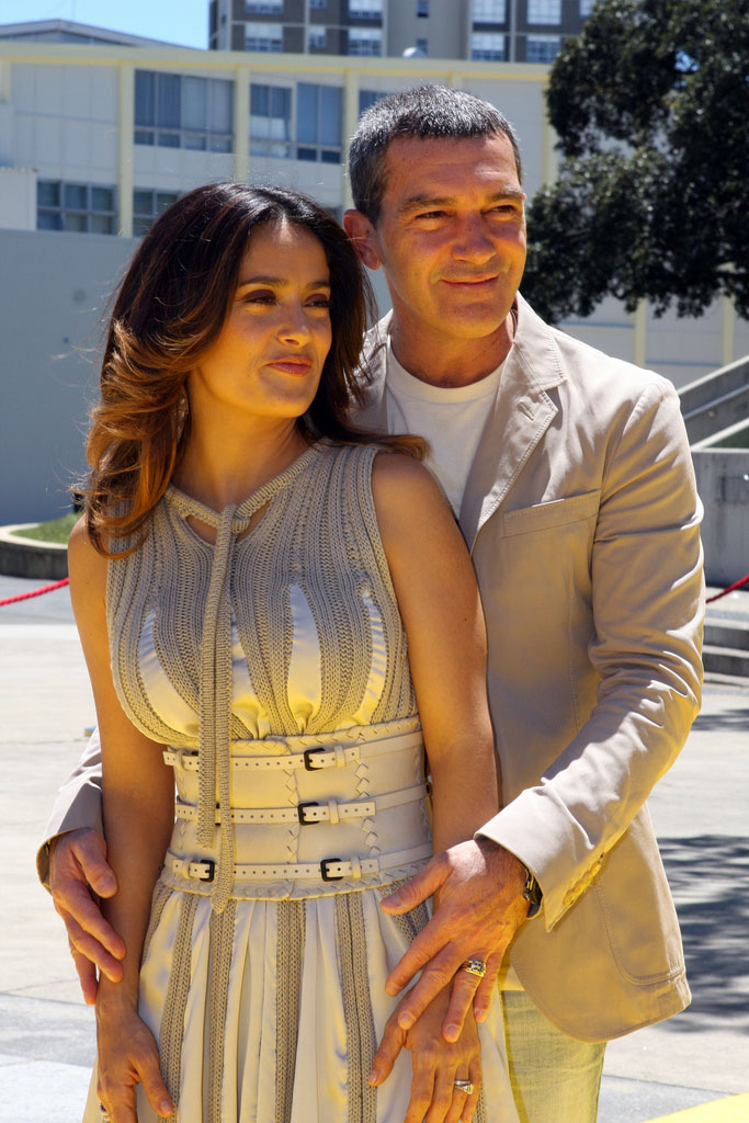 antonio banderas6 Salma Hayek and Antonio Banderas at Australian Movie Premiere