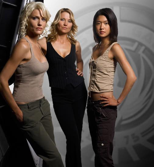 cylon Sexy Cylon Girls from Battlestar Galactica