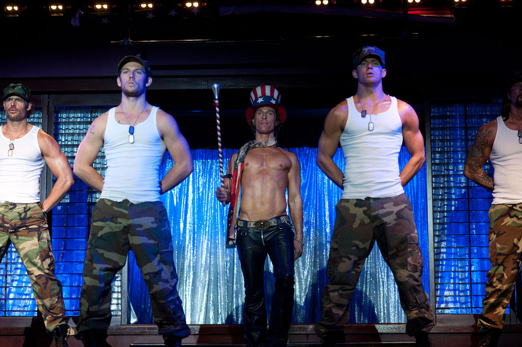 channing tatum Shirtless Channing Tatum Comes in Magic Mike Movie
