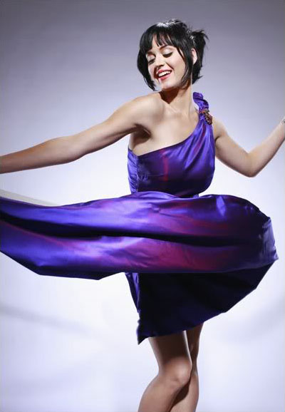 katy perry pictures10 Sweet Katy Perry in Purple Dresses