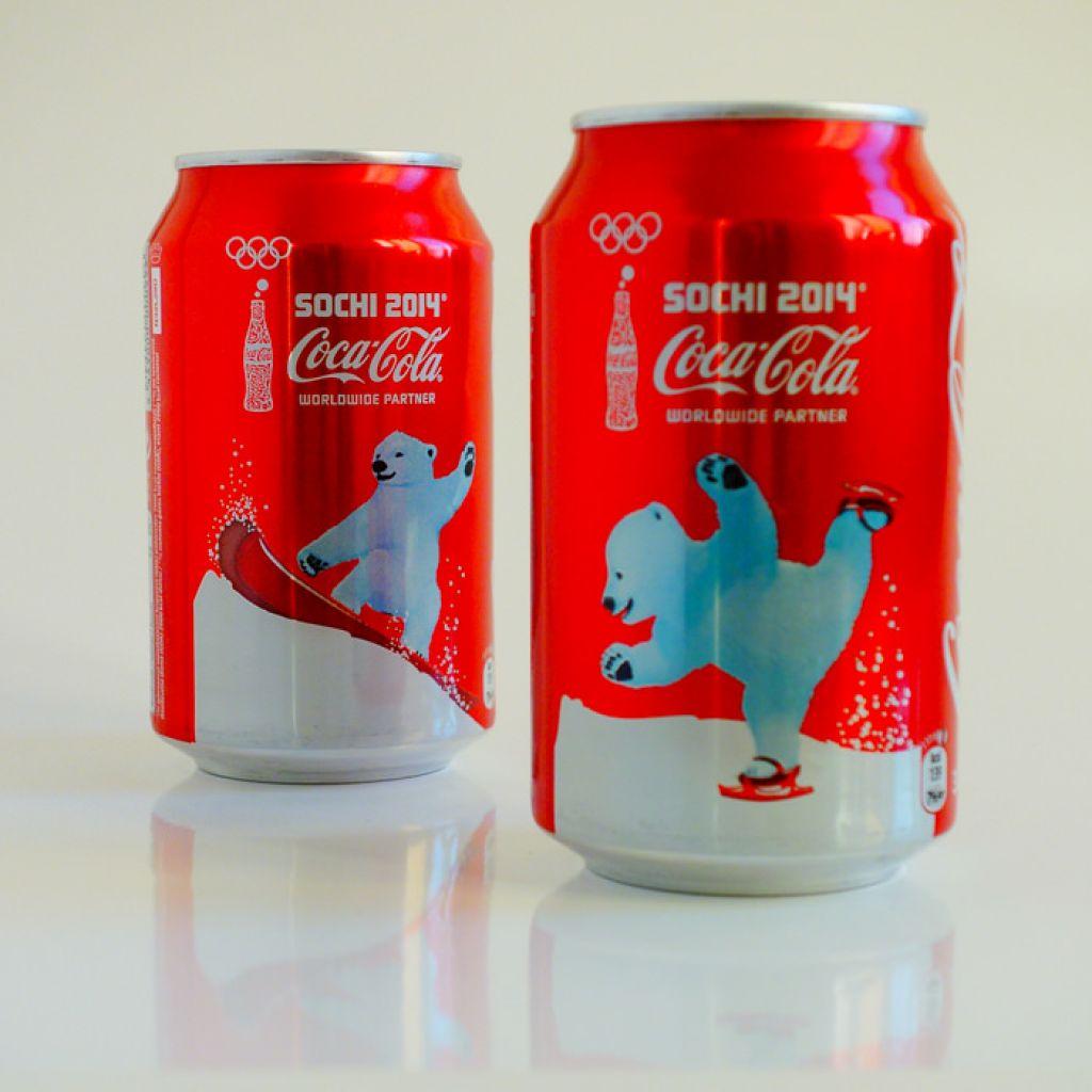 coca cola Coca Cola Sochi 2014 Cans