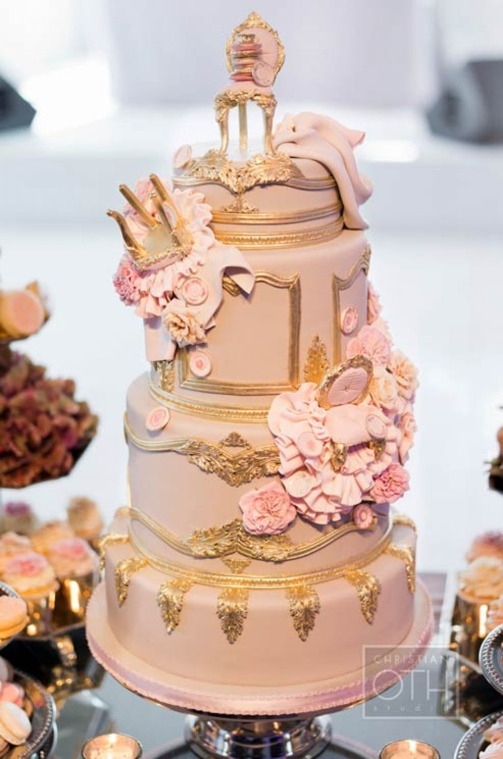 wedding cake4 Creative Wedding Cakes Inspiration