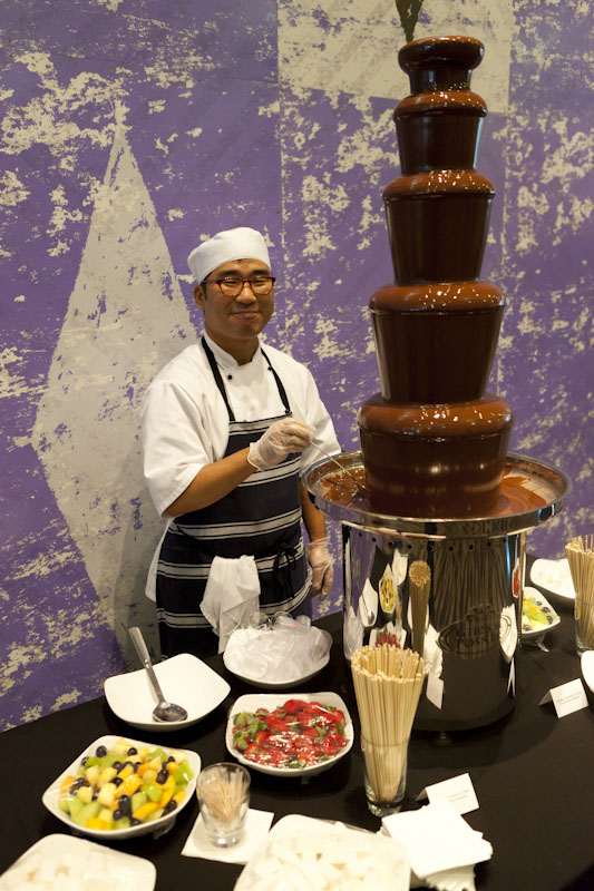 chocolate fountain9 What Kind of Chocolate Could Be Used in a Chocolate Fountain