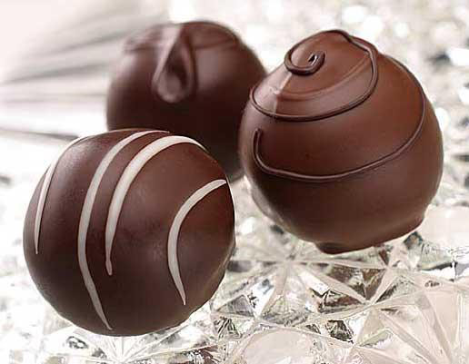chocolate truffles Simple Chocolate Truffles Recipe