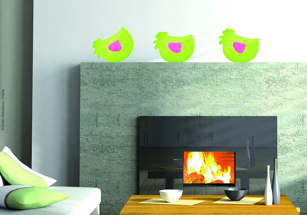 wall stickers13 Decorations Designed for Walls and Furniture