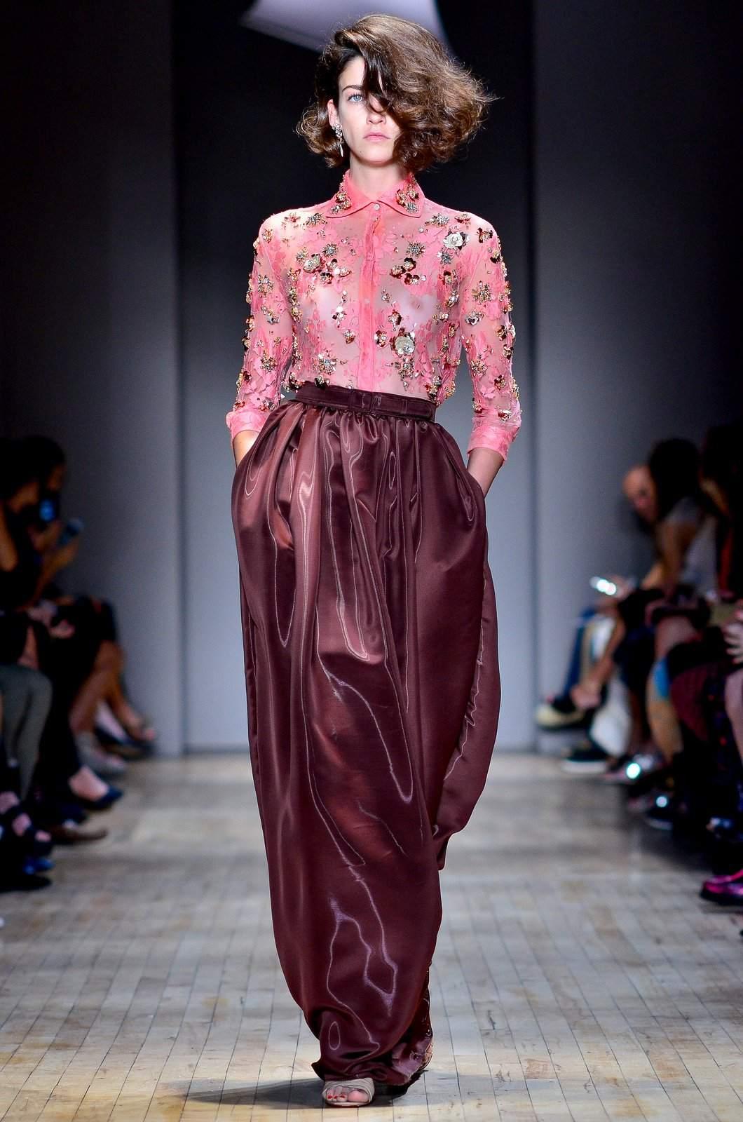 jenny packham12 Jenny Packham Spring/Summer Collection 2015 at NYC Fashion Week