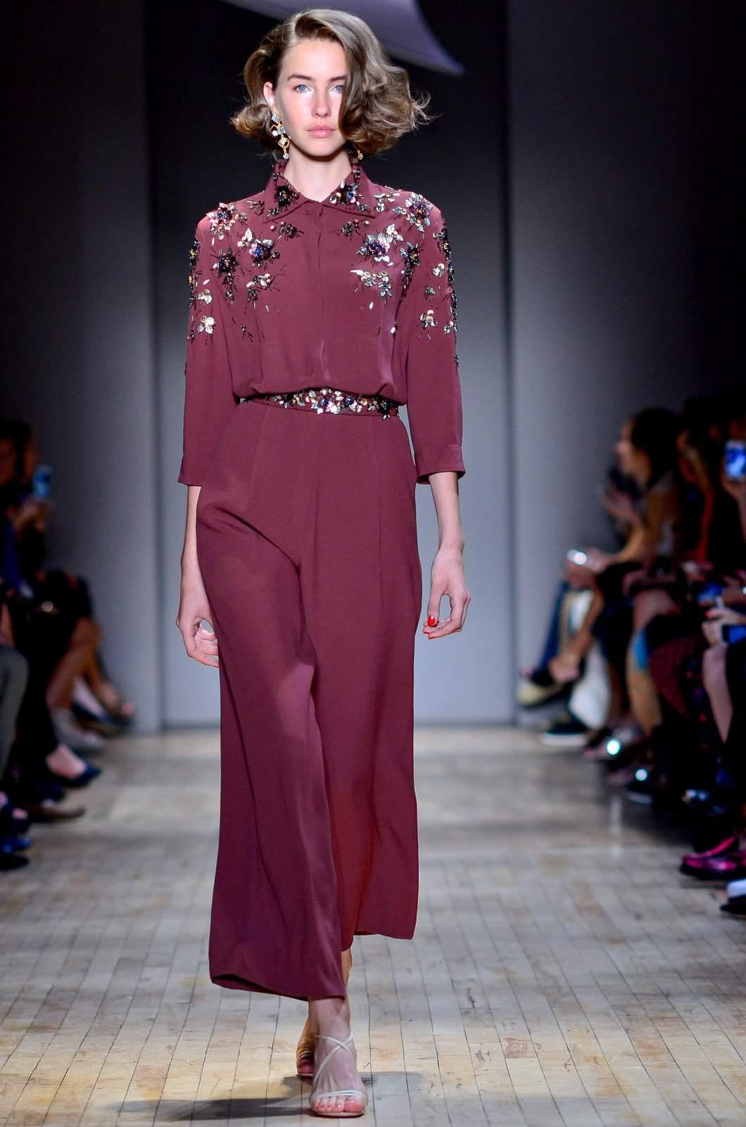 jenny packham6 Jenny Packham Spring/Summer Collection 2015 at NYC Fashion Week