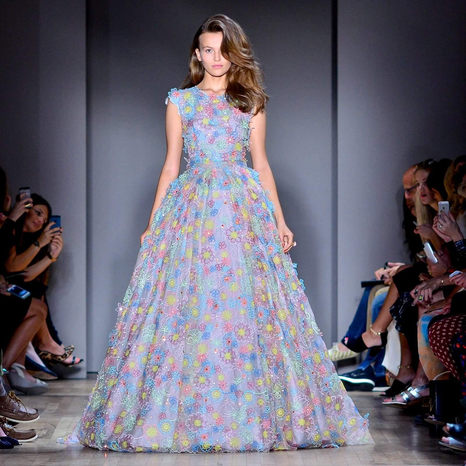 jenny packham9 Jenny Packham Spring/Summer Collection 2015 at NYC Fashion Week