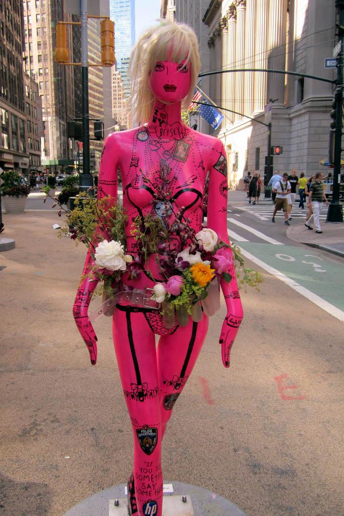 new york fashion11 New York Fashion Public Art Event