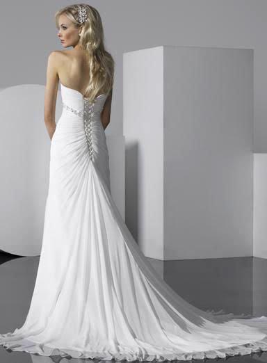 white wedding dress11 Be a Princess in White Wedding Dress