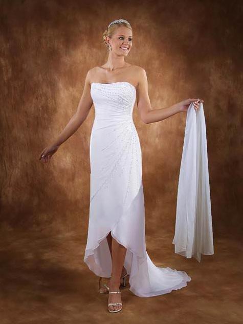 white wedding dress5 Be a Princess in White Wedding Dress