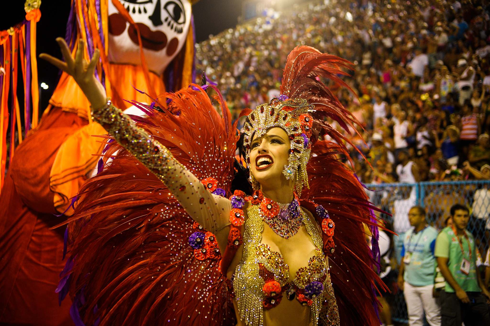 rio de janeiro 2016 Vila Isabel at Carnival in Rio de Janeiro