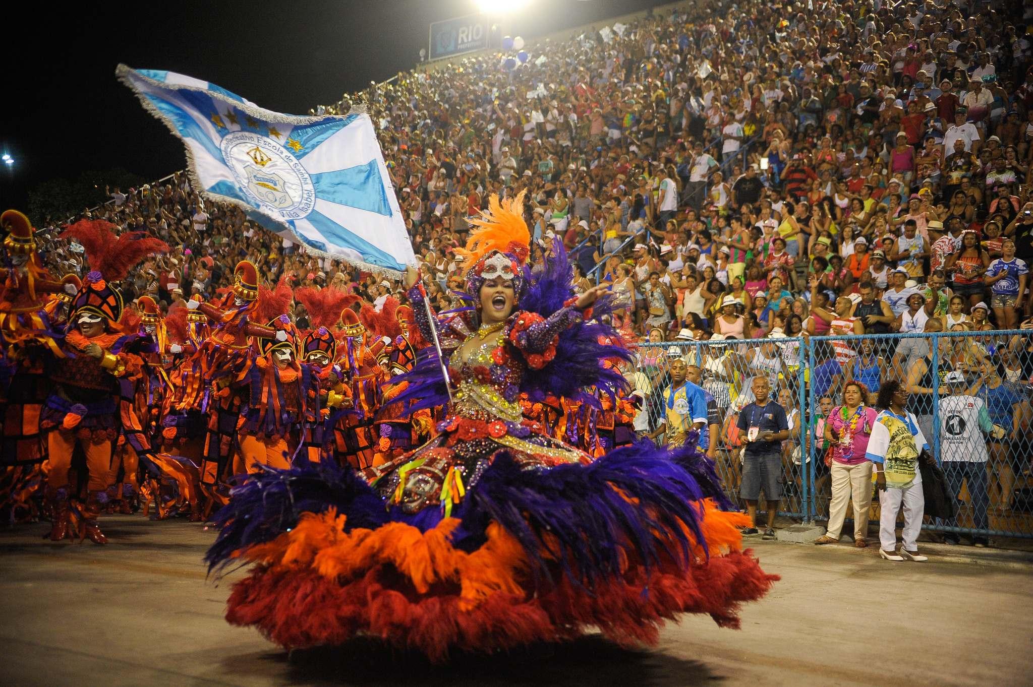 rio de janeiro 20162 Vila Isabel at Carnival in Rio de Janeiro