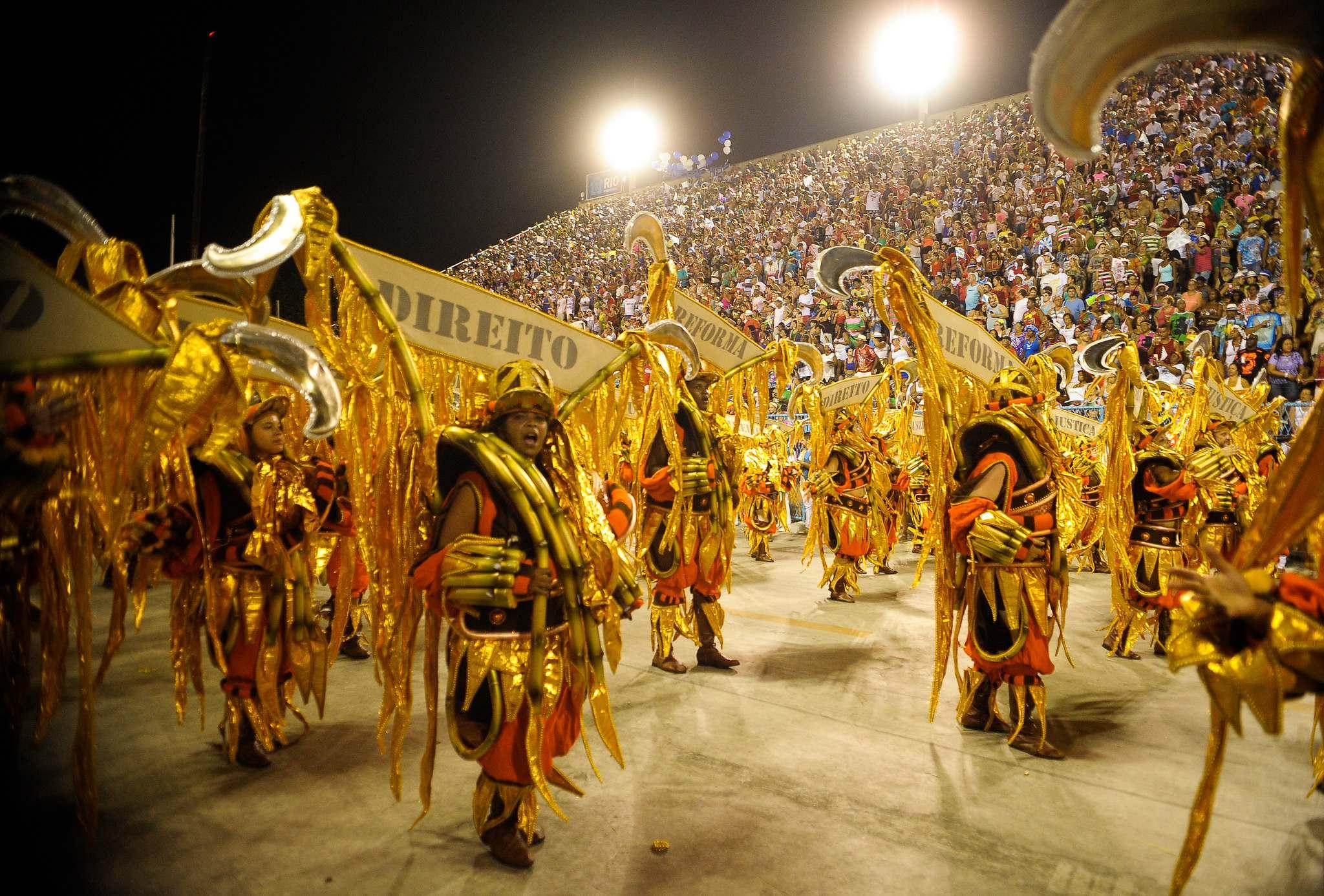 rio de janeiro 20166 Vila Isabel at Carnival in Rio de Janeiro